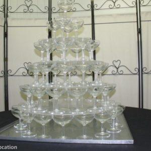 Plateau fontaine champagne